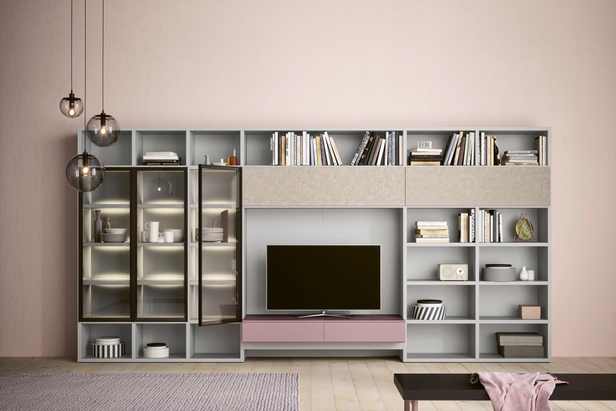 Libreria Sospesa, Wall-30 | Novamobili