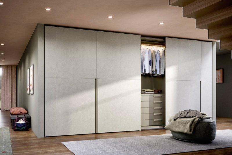 armoires design porte coulissante coplanaire