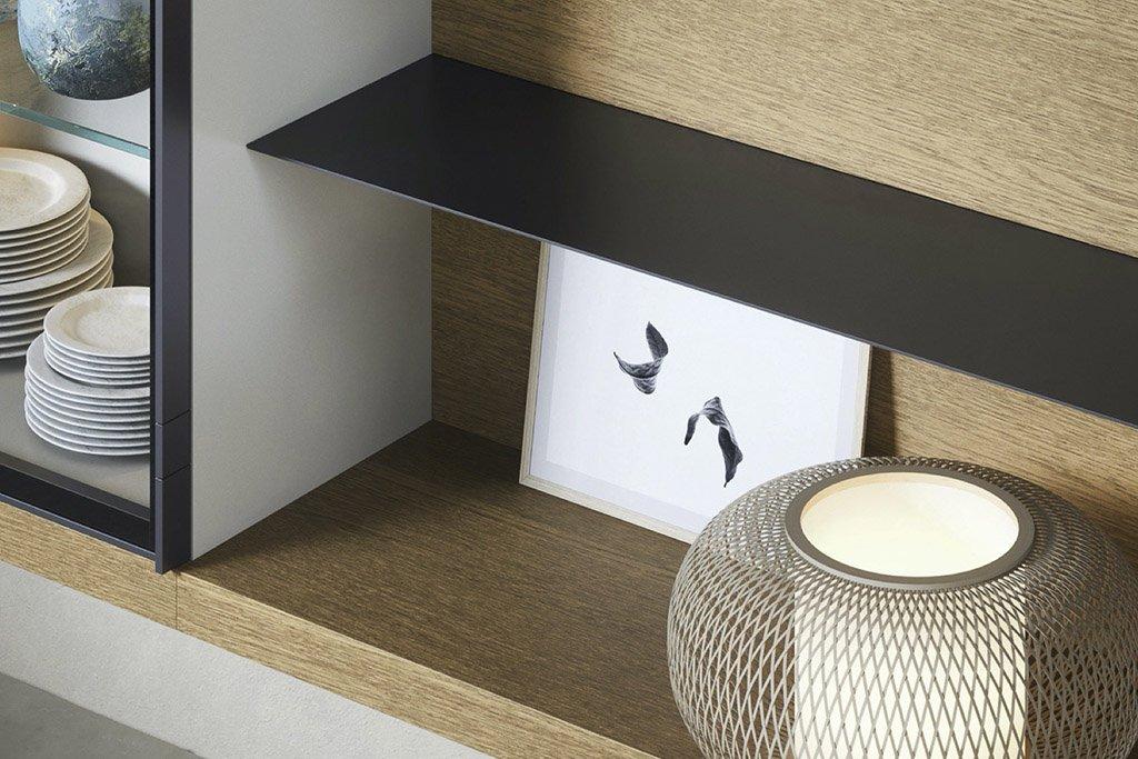Shelves shelves and wall-mounted tops