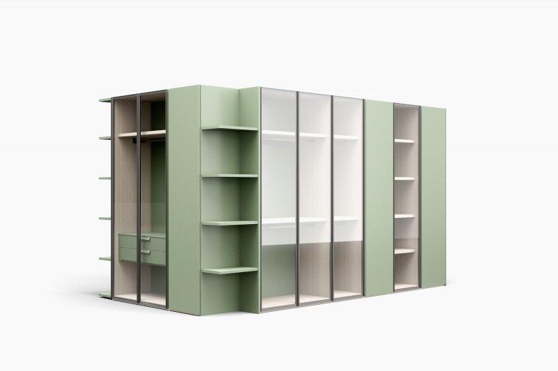 armarios con puertas batientes de diseño