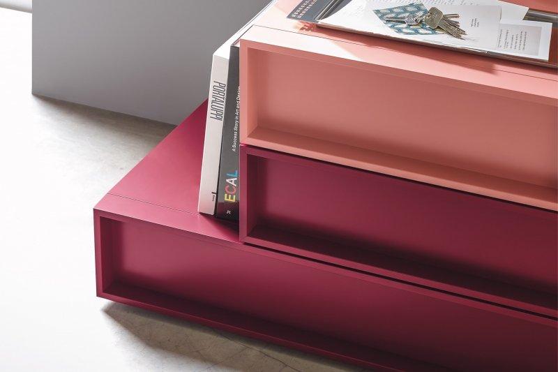 design drawer units and design bedside tables