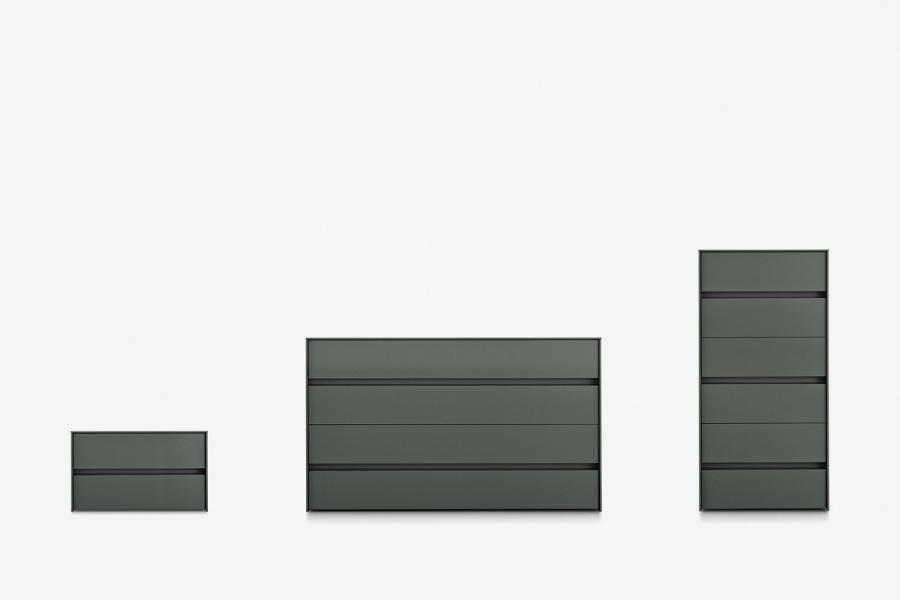 design éléments à tiroirs et chevets