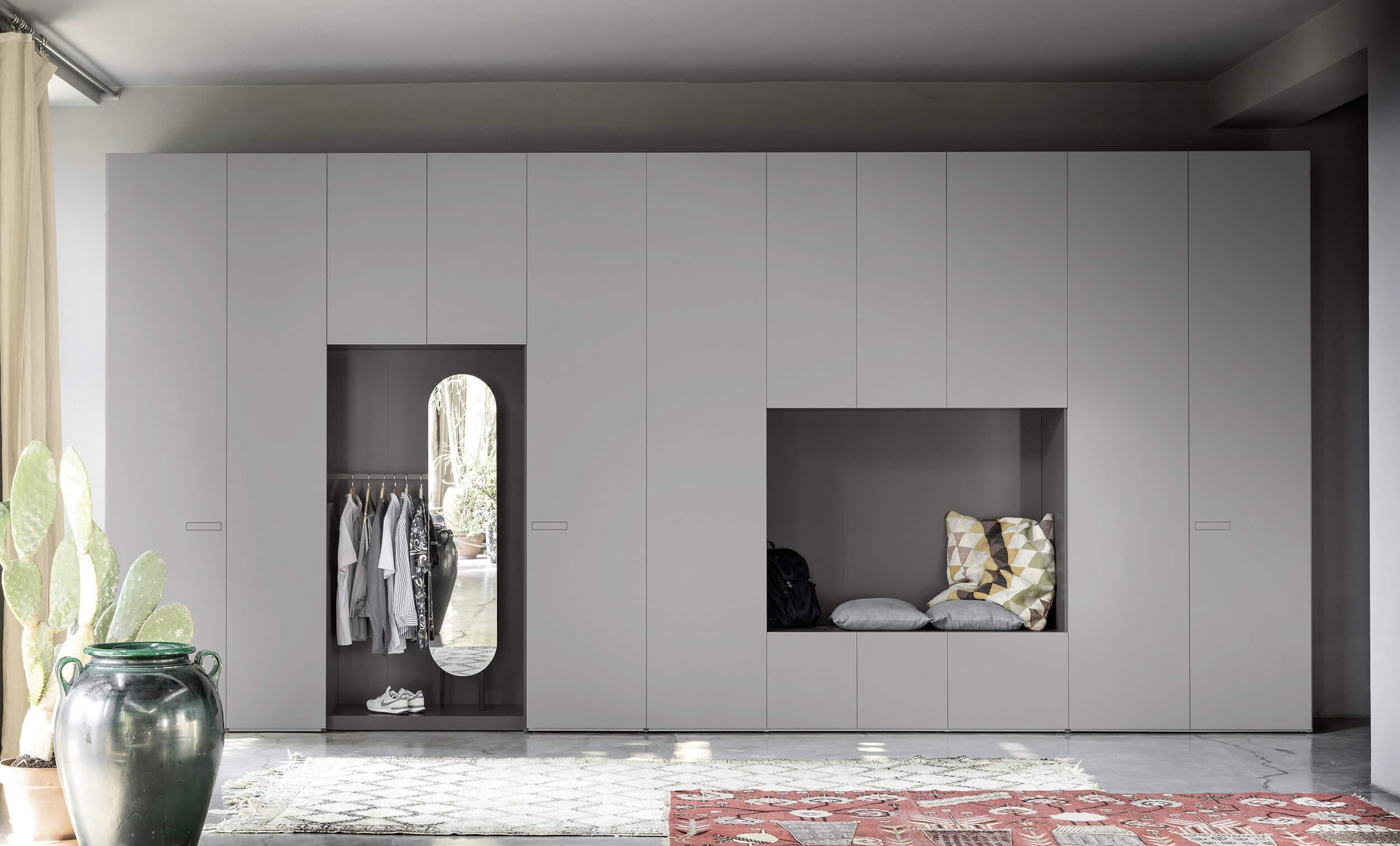 Armadio A Muro Design armadi moderni ad ante battenti - alfa | novamobili
