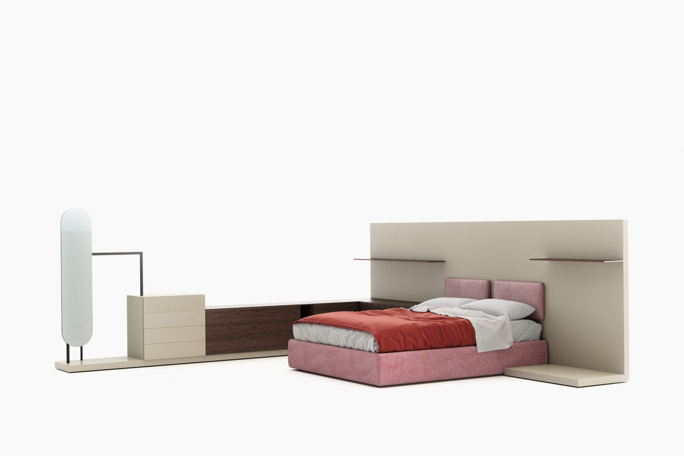 Drawer units and bedside tables Easy System