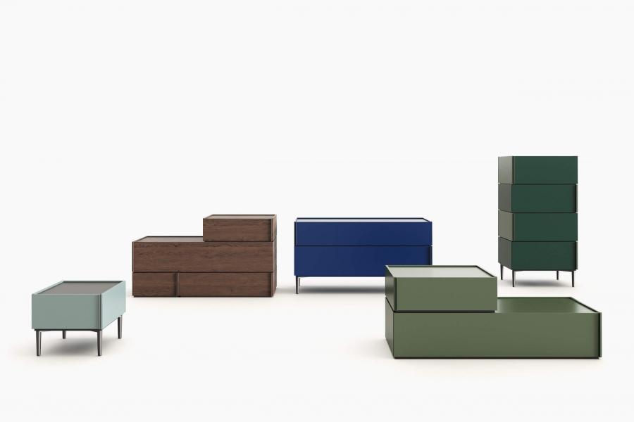 Cassettiere, Comodini, Comò e Settimanali di Design | Novamobili