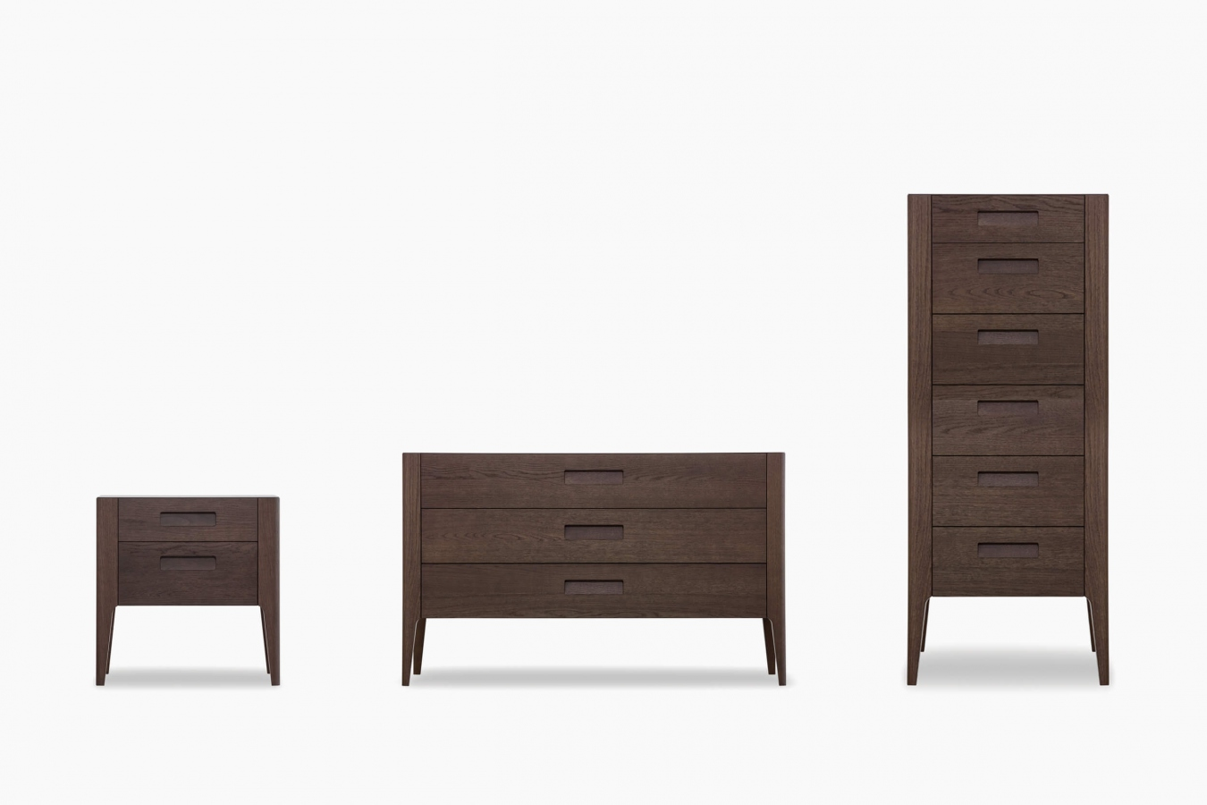 Drawer units and bedside tables Giotto