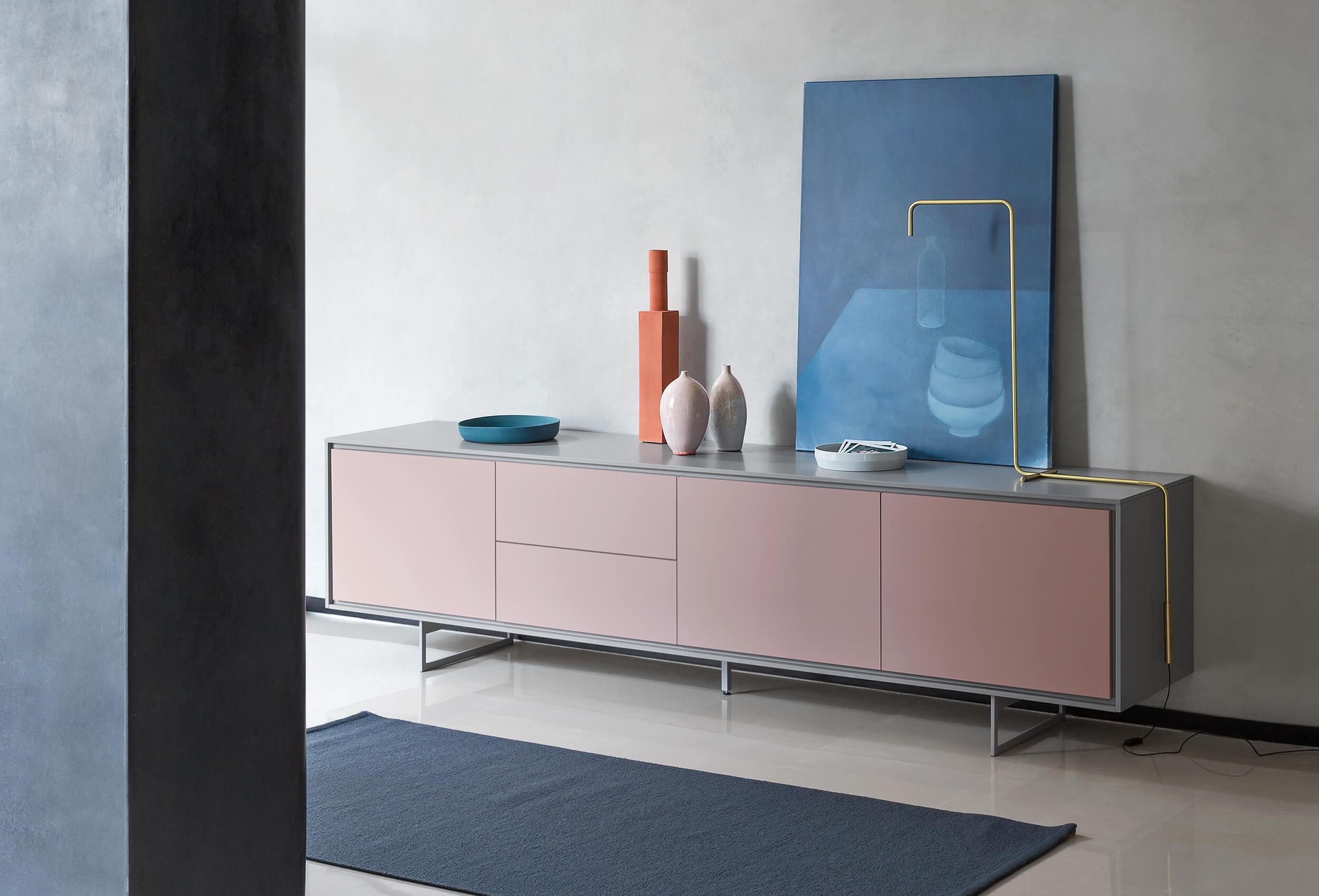 Credenza Moderna Sottile : Shadows tavoli e sedie novamobili